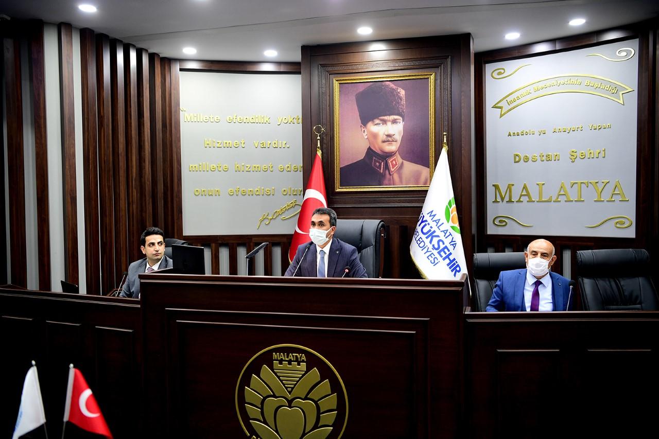 Büyükşehir Belediyesi 'UKOME' Nisan Ayı Toplantısı Yapıldı