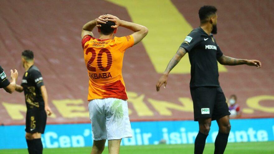 Yeni Malatyaspor Galatasaray'a Geçit Vermedi