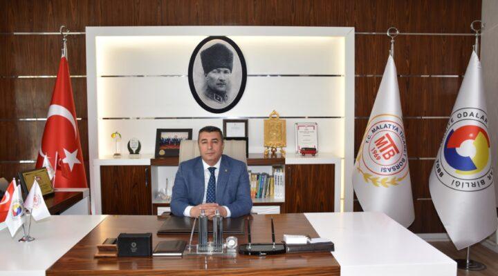 Malatya Ticaret Borsası Başkanı Özcan'ın Ramazan Bayramı Mesajı
