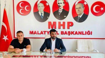 """MHP İl Başkanı Samanlı :""""Güçlü Bir Malatya İçin Canla Başla Çalışacağız"""