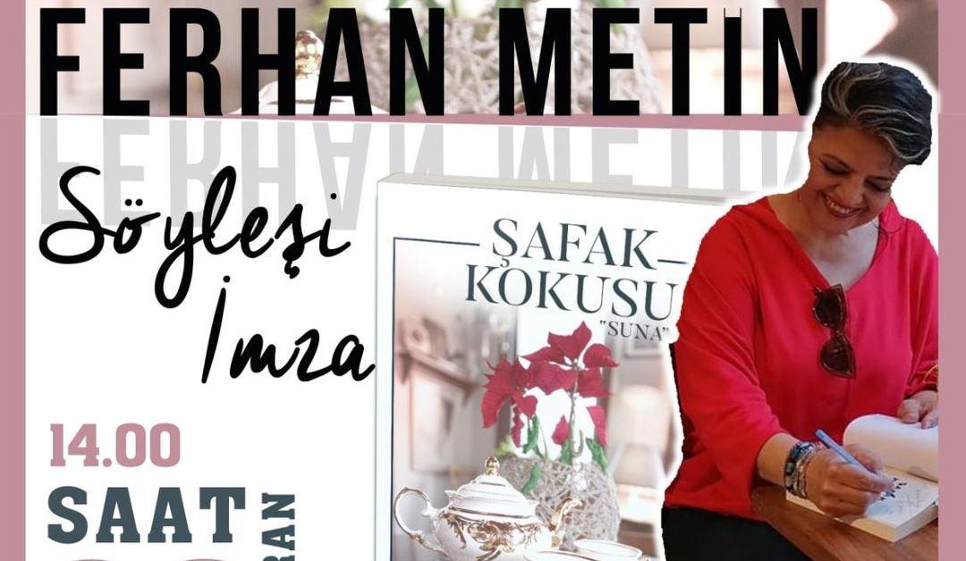 Ferhan Metin'in İlk Kitabı Çıktı