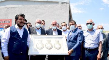 Darende Sanayi Sitesi Esnafından Başkan Gürkan'a teşekkür