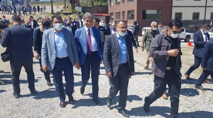 """Gürkan, """"Kayseri İle Malatya'yı Kültür Ve Sosyal Birliktelik Olarak Yakın Buluyoruz"""""""