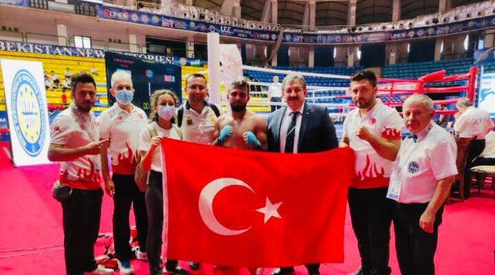 Özbekistan'da düzenlenen Uluslararası Kick Boks Şampiyonası'na katılan Öğrencimiz Avrupa Şampiyonu Oldu.