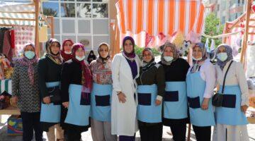 Battalgazi'nin Kalbi Kadın Kooperatifi Hanımeli Pazarı Yeniden Kapılarını Açtı