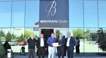 Türkiye'nin en büyük 500 sanayi kuruluşu arasında gösterilen Baykan Denim Konfeksiyon A.Ş