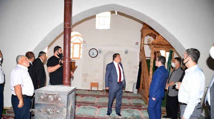 Yukarıörükçü Camii'nin Tescili İçin Çalışmalar Başladı