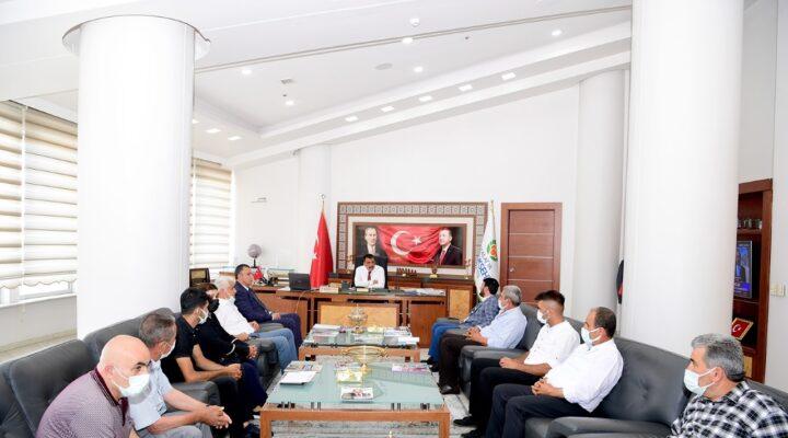 Ak Parti Yerel Yönetimlerden Başkan Gürkan'a Ziyaret