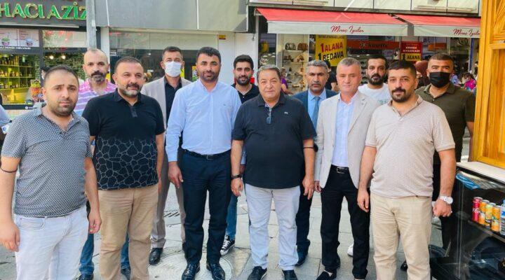 Esnaf'tan MHP Teşkilatına Büyük sevgi