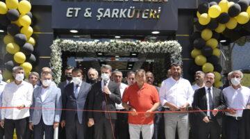 Malatya'da HÜNKAR HAN Et ve Şarküteri işletmesinin açılışına yoğun ilgi