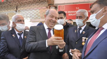 KKTC Cumhurbaşkanı Tatar Malatya'da