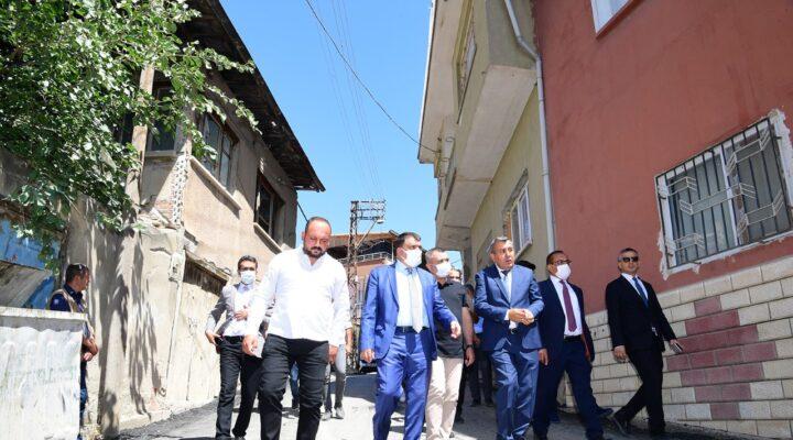 Gürkan: Malatya'nın Her Köşesinde Yoğun Bir Çalışma Gerçekleştiriliyor