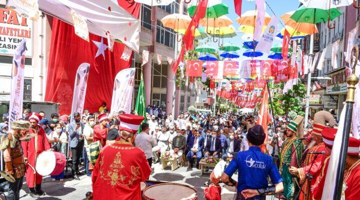 24.Malatya Kültür Sanat ve Kayısı Festivali Başladı