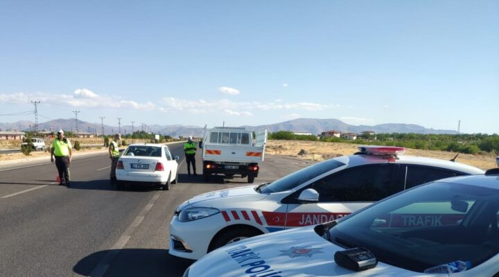 Kurban Bayramı Tatili Sonrası dönüş yapan tatilcilere Trafik Uygulaması