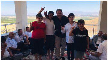 Siyasettin okulu Ilıcak'ta MHP'li Fendoğlu ve MYK Üyeleri Ekici ile Gönültaş ağırlandı
