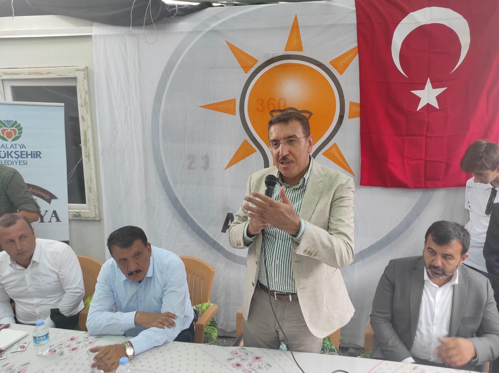 AK Partili Tüfenkci kirli oyunlarla dikkat çekti
