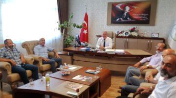 Akçadağ Belediye Başkan Yardımcısı Işık'dan DSİ Şube Müdürü Tüfenkçi'ye Ziyaret