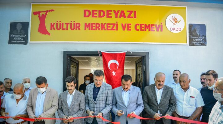 Dedeyazı Kültür Merkezi ve Cemevi Açılışı Yapıldı