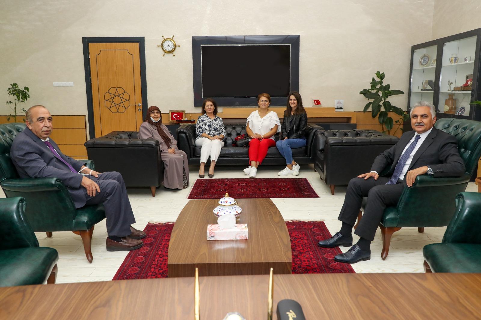Samsun İl Emniyet Müdürü Dr. Ömer Urhal'ı makamında ziyaret ettik.