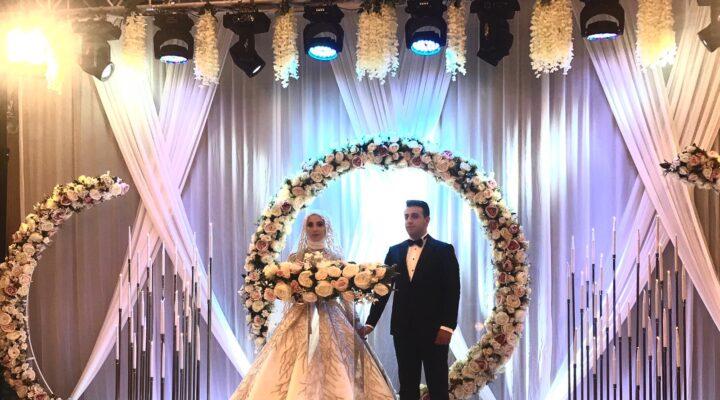Berk ile Hicran Muhteşem Bir Düğün Töreni ile Dünya Evine Girdiler