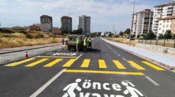 Büyükşehir Belediyesi Tarafından Okul Önlerinde Trafik Güvenliğinin Artırılmasına Yönelik Çalışmalar Devam Ediyor