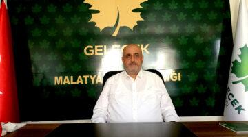 """Gelecek Partisi Malatya İl Başkanı Ahmet Ercan Uçkan;  """"İnsanlar Mutsuz Ve Umutsuz"""""""