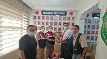 Jandarma'dan Anlamlı Malatya Gazi ve Şehitler Derneği Ziyareti