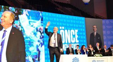Muharrem İnce Yeniden Genel Başkanlığına seçildi