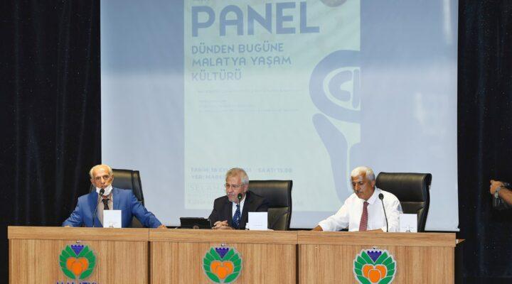 'Dünden Bugüne Malatya Yaşam Kültürü' paneli düzenlendi