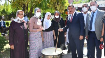 'Gastronomi Workshop' yöresel yemek ve ürünler Sümer Park'ta sergilendi