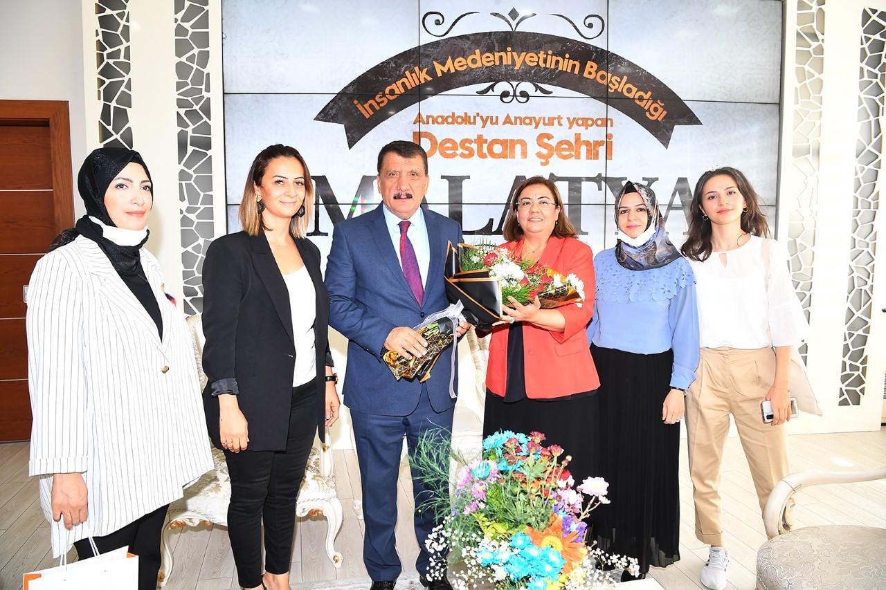 KADEM Malatya İl Temsilciliğinden Başkan Gürkan'a Ziyaret