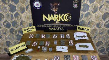 Narkotik 'den Operasyonlar Durmak Bilmiyor, 21 Şahıs Göz Altında