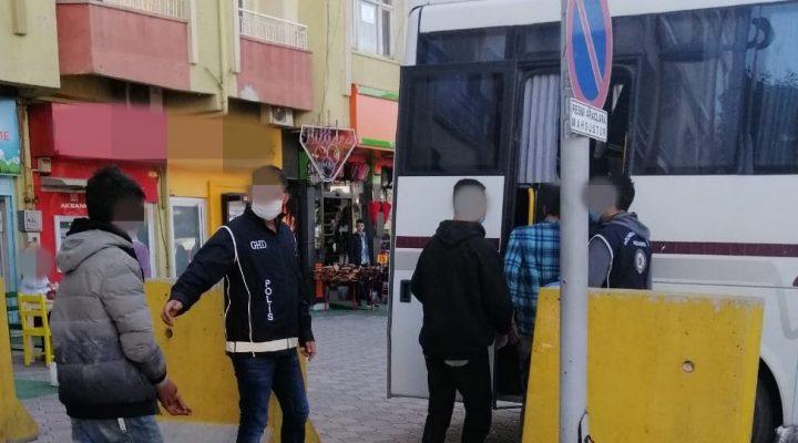 Kaçak 11Afgan Uyruklu Göçmen Yakalandı