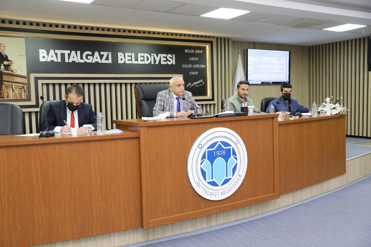 Battalgazi Belediye Meclisi Başkan Yardımcısı Kırçuval Başkanlığında Toplandı