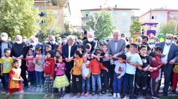"""Battalgazi'deki """"Şehit Fethi Öncü"""" Parkı Törenle Hizmete Açıldı"""