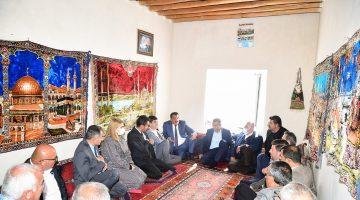 Başkan Gürkan Gökçeören Mahallesini Ziyaret Etti