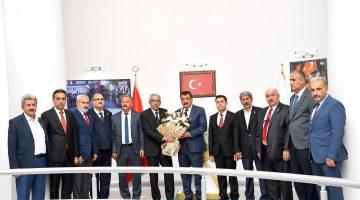 """Muhtar Derneklerini Ağırlayan Başkan Gürkan,""""718 Mahallemizin Muhtarlarıyla Koordineli Bir Şekilde Çalışıyoruz """""""