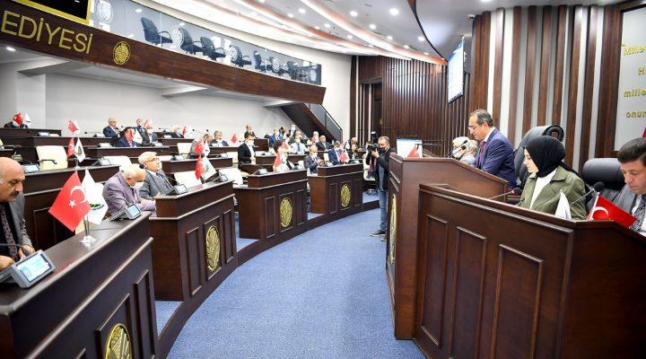 Büyükşehir Belediye Meclisi Ekim Ayı Toplantısı Sona Erdi
