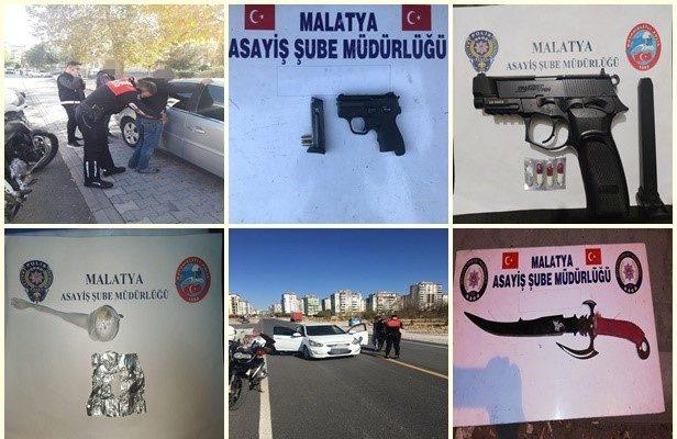 """Malatya Asayiş 'inden """"Şok"""" ve Sabit Uygulama"""
